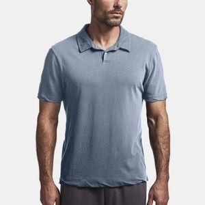 James Perse Light Blue Classic Polo